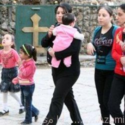 عائلة مسيحية عراقية