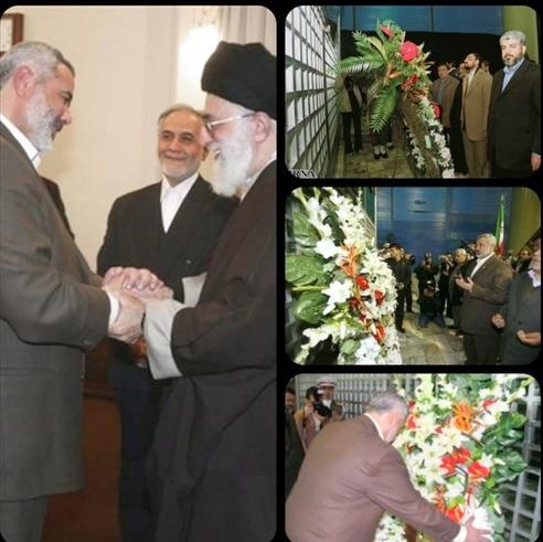 زيارة مشعل إيران وأكاليل زهور للإمام.bmp
