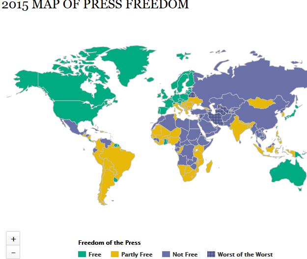 مؤشر الحرية الصحفية