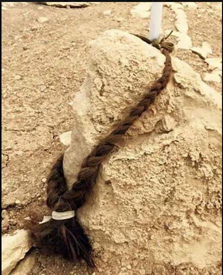قبر منصور شنكالي وضفيرة حبيبته