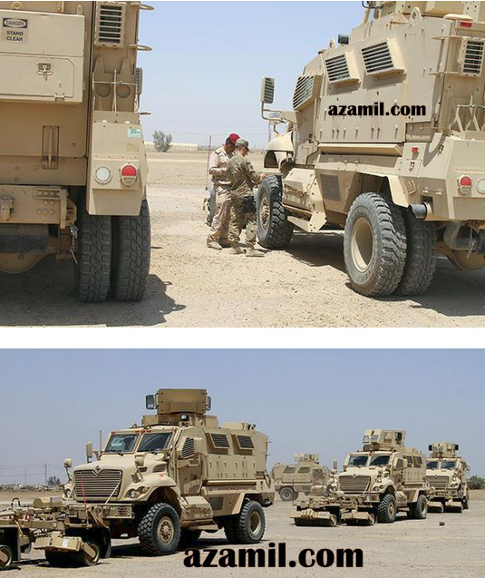 30 عربه MRAP نوع Maxx Pro