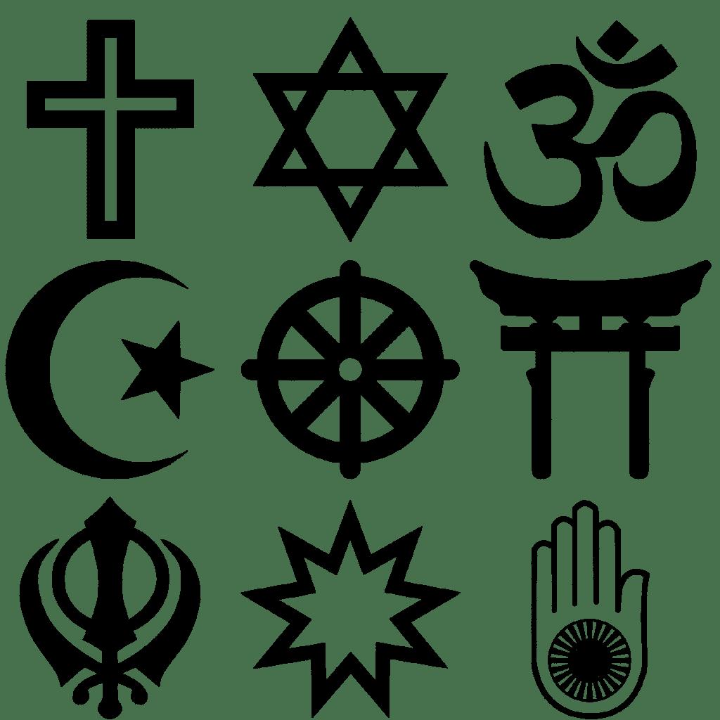 رموز الاديان