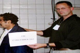 صدام في السجن