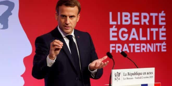 الرئيس الفرنسي ماكرون