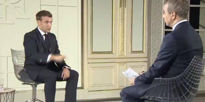 ماكرون مقابلة